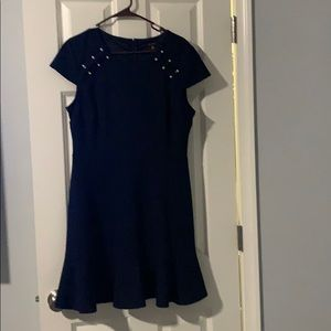 Dress with pearls